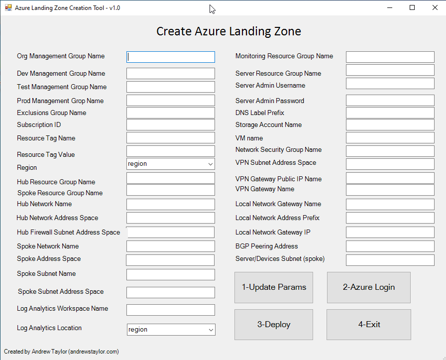 Building an Azure Landing Zone with Bicep